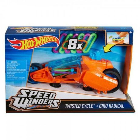 New Машинка Hot Wheels Speed Winders Twisted Cycle Vehicle Турбоскорос