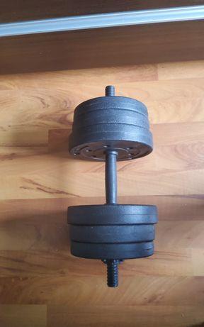 Hantel 9 kg Nowy