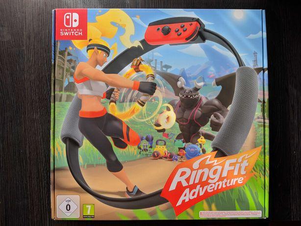 Ring Fit Adventure Nintendo Switch NOWY Pełen Zestaw