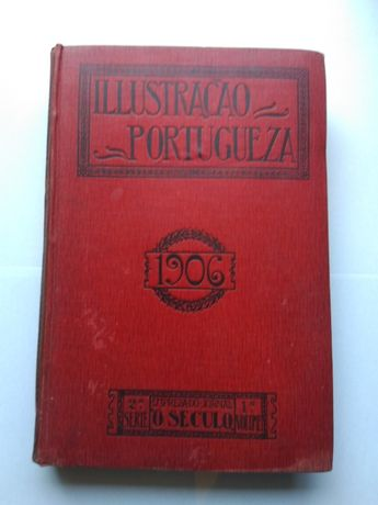 """Livro """"Illustração Portugueza"""" de 1906"""