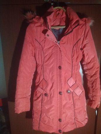 Куртка синтепоновая, удлинённая,р-р 42-44