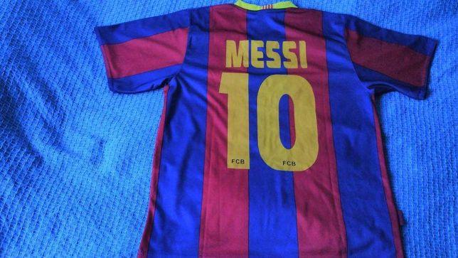 Camisola do FC Barcelona- Messi 10 (Produto Oficial)