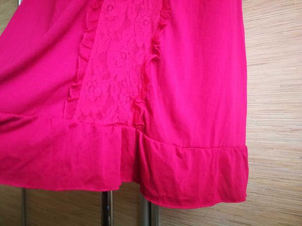 StreetOne sukienka mini tunika bluzka ciążowa fuksja XXL