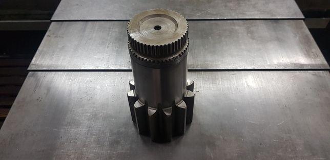 Wałek reduktora obrotu liebherr reduktor silnik hydrauliczny compact