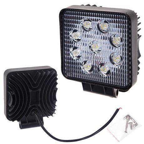 Фара прожектор LML-K0727 SPOT (9led*3w) 105mm*105mm (K0727 S)