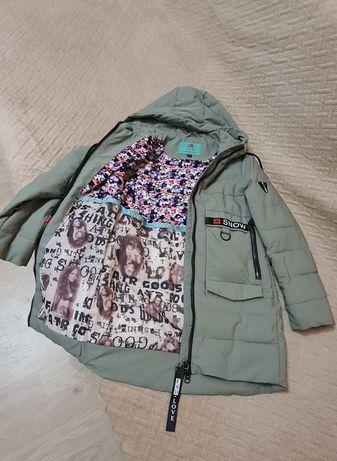 Куртка-пальто для дівчинки 12років,(демісезон)