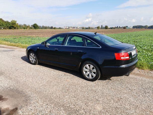 Audi A6c6 uszkodzona