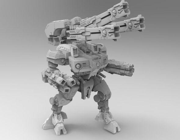 Figurka Mecha Tau Warhammer 40K, KX139 Ta'unar