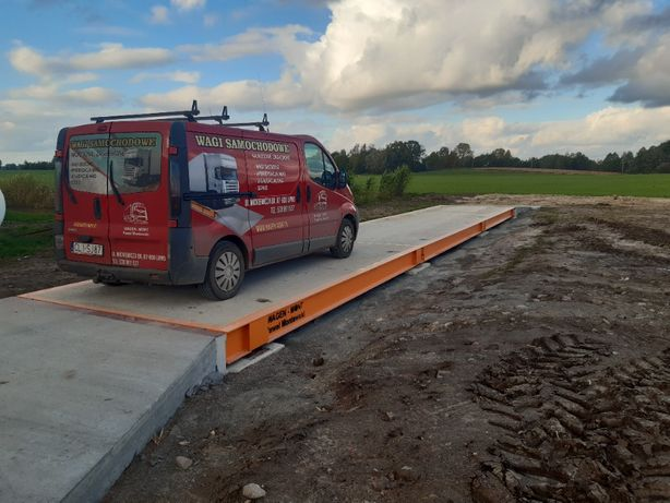 Waga Samochodowa stalowo-betonowa 18x3 60 T. 5 lat gwarancji !!!