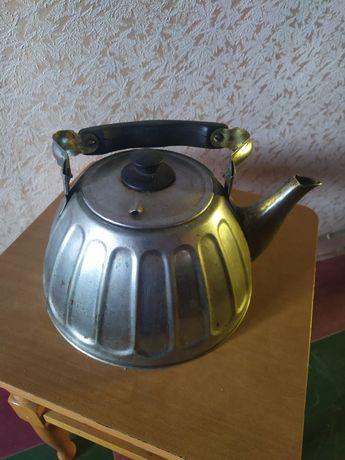 Чайник мельхиоровый МНЦ СССР