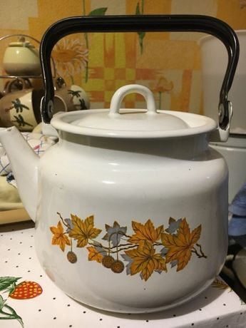 Чайник эмалированный СССР 3 литра