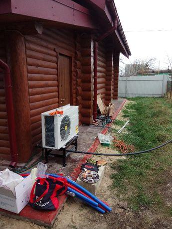 Тепловой насос для отопления дома/коттеджа 150-250 кв.м.