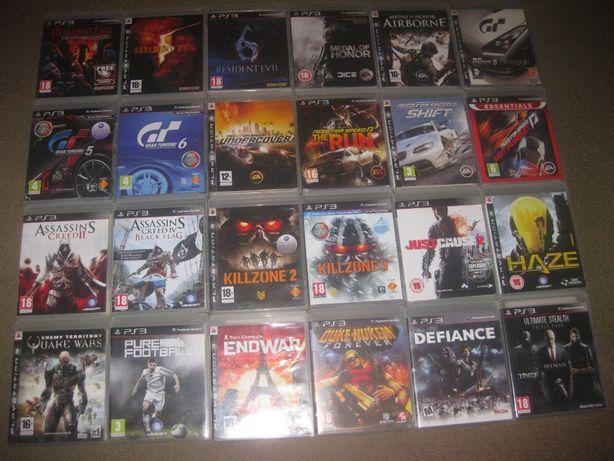 Grande Lote Jogos PS3/Completos/Impecáveis!