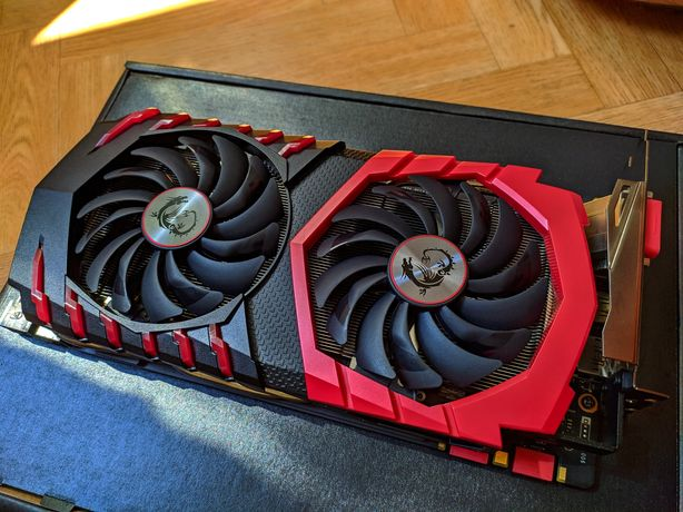 Karta graficzna MSI GeForce GTX 1070 Gaming X 8GB
