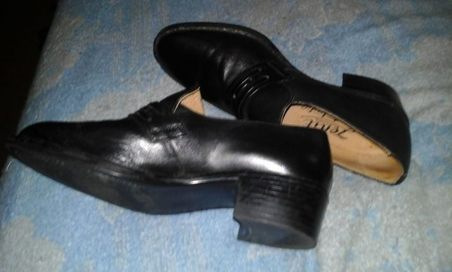 Туфли мужские на высоком каблуке