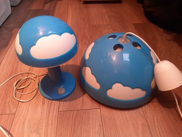 Komplet lamp dla dzieci