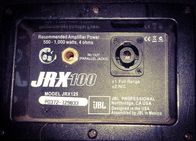 Zestaw końcówka mocy CROWN XTi 2000 USA + 2szt kolumn JBL 125 JRX 100