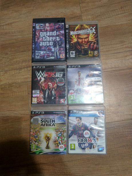 Zestaw gier na PS3 cena za wszystko gry są jak nowe nie porysowane