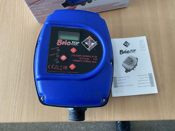 Автоматика на насос контроллер давления Italtecnica Brio Top.
