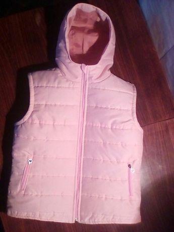 Жилетка+курточка для мамы и дочки