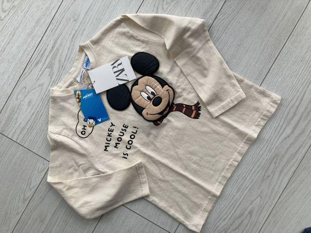 Bluzka t-shirt miki Zara 110 4-5 lat