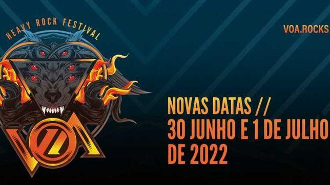 VOA Heavy Rock Festival - 30 Junho 2022