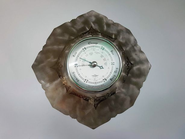 Старинный барометр SB SHORTLAND, Англия, 50-е годы. серебрение.