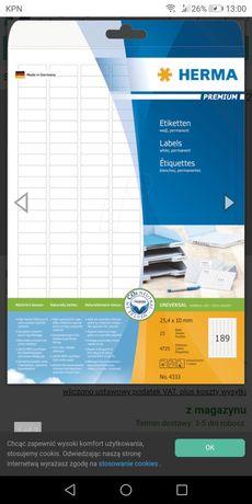 Etykiety samoprzylepne przydatne w kuchni i biurze