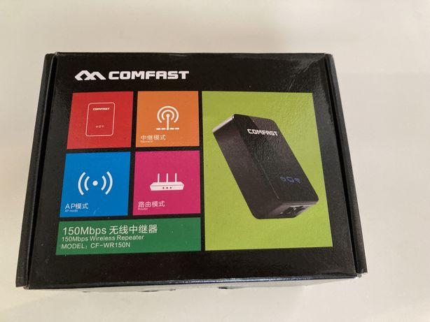 Amplificador de sinal wifi compak sem uso, como novo