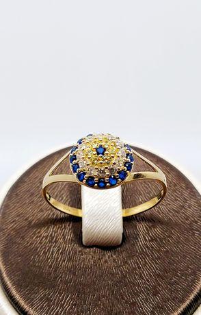 Złoty pierścionek próba 585 Rozmiar 19