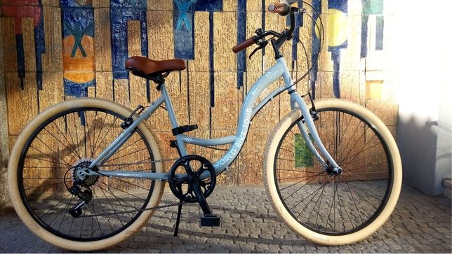 Bicicleta vintage esmaltina ótimo estado