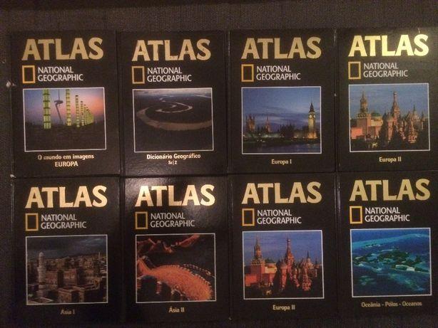 National Geographic - Atlas - vários volumes