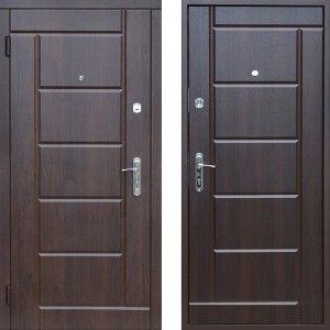 Входные двери металл с МДФ накладкой