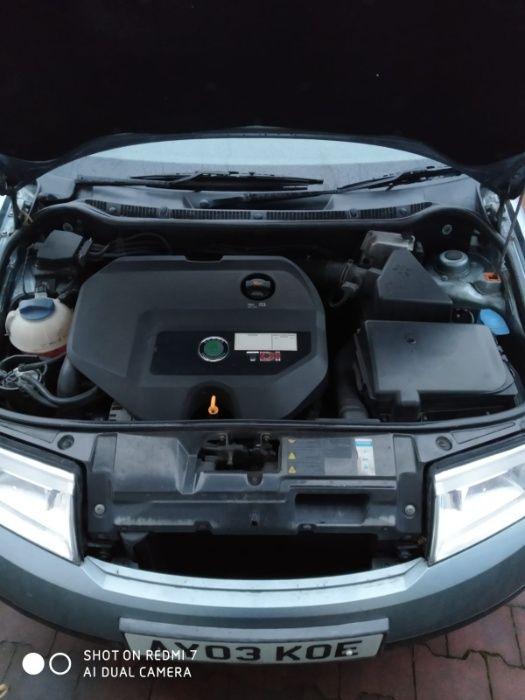 silnik, skrzynia 1.9 tdi skoda fabia 1 2003 anglik Głubczyce - image 1