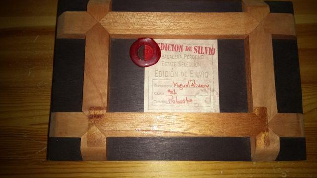 Оригинальная коробка из-под сигар дерево качество шкатулка подарок