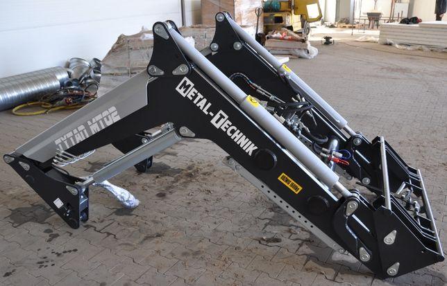 Ładowacz czołowy MT-02 Metal-Technik do ciągnika Farmtrac 675DTn NOWY