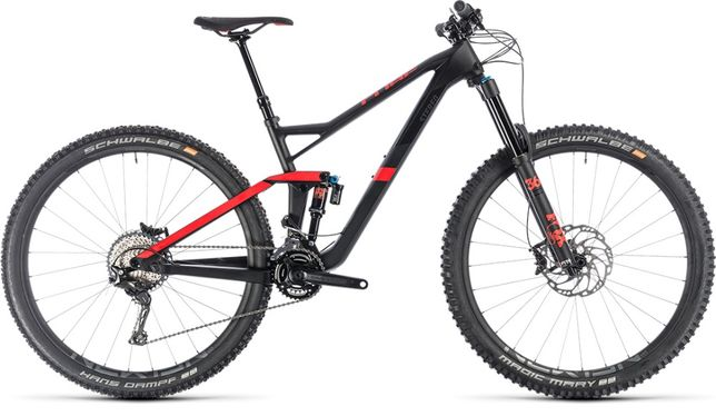 Cube Stereo 150 C:62 Race 29 Carbon' n' red