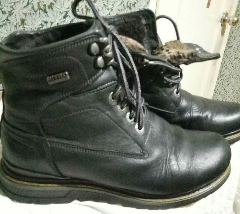 Зимние ботинки, мужские, б/у, супер состояние, шнуровка, 1100 грн Житомир - изображение 1