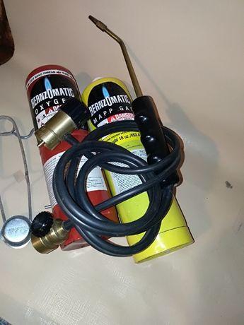 BERNZOMATIC do palenia i lutowania tlen = gaz