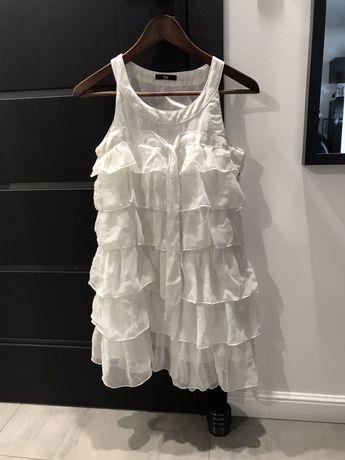 Biała sukienka r.xs