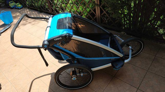 Przyczepka Rowerowa Thule Chariot Cross2 -stan idealny z gwarancją !!!