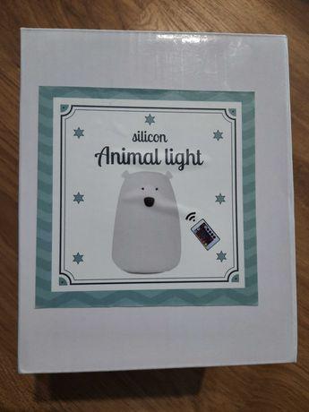 Lampka nocna silikonowa dla dziecka