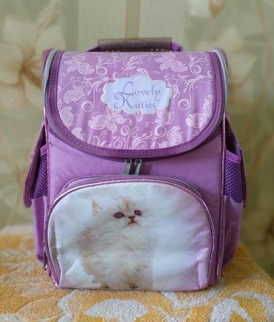 Рюкзак школьный для девочки. Ранец, портфель