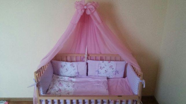 Кроватка детская,матрас,бортики, постель/дитяче ліжечко.