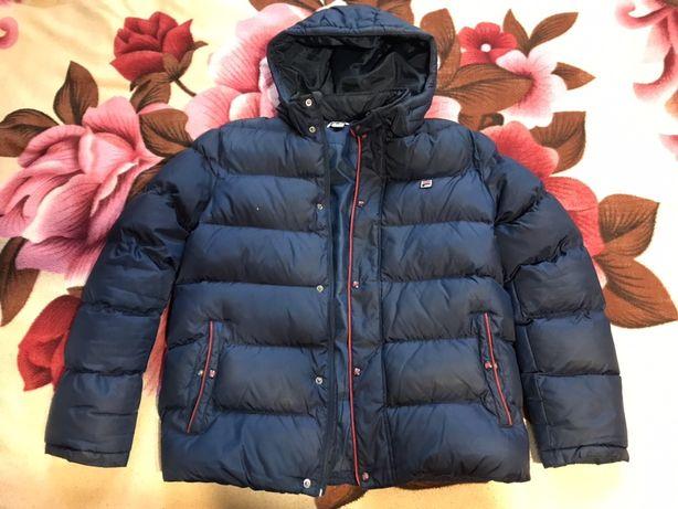 Курточка зимняя Fila (куртка) для 13-15 лет,рост 165-170см