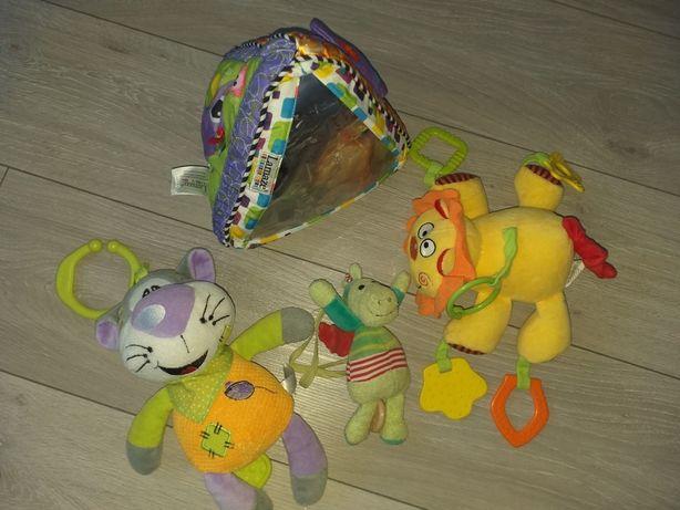 Zabawki dla niemowlaka :) zabawki do wózka, pozytywka , lamaze
