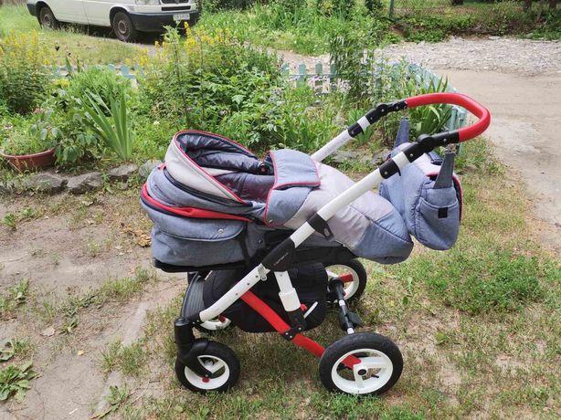 Прогулочная коляска adamex aspena rainbou