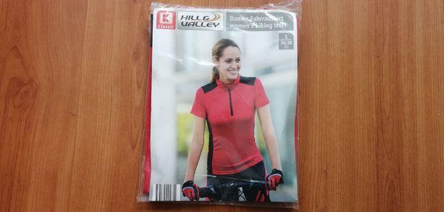 Koszulka rowerowa damska S.