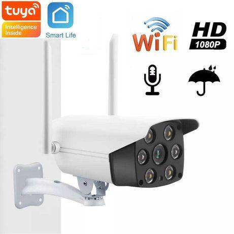 Camara de Vigilância WIFI para Exterior compatível Tuya