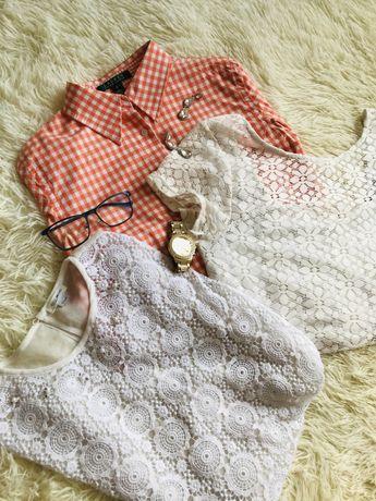 Кружевні блузи , рубашка
